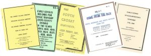 Some Leeds and Grenville Branch publications