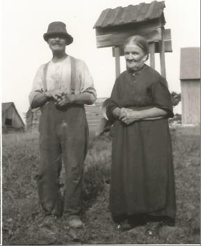 Edwin White (1858-1952) Letitia Jane Hales (1859-1938)