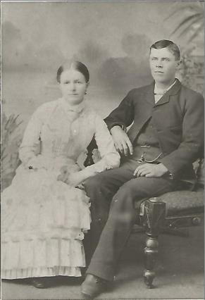 Eva May (Morris) (1864-1924) & William Thomas (Tommy) Hales (1861-1939)